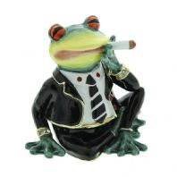 Treasured Trinkets - Frog with Cigarette